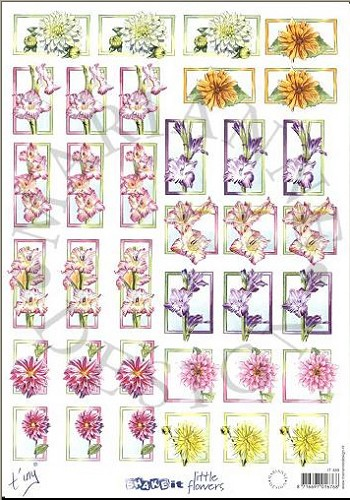 Knipvel - Shake It little flowers - Marianne Design - IT489
