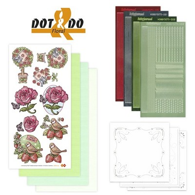 Hobbydots - Dot en Do Set - Floral - Dodo-002