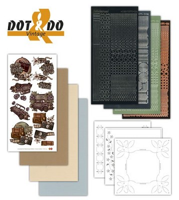 Hobbydots - Dot en Do Set - Vintage - Dodo-009