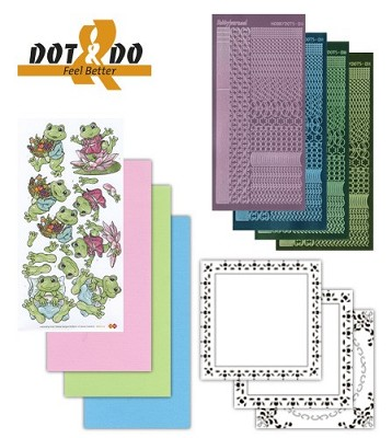 Hobbydots - Dot en Do Set - Feel Better - Dodo-012A