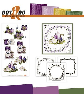 Hobbydots - Dot en Do Set - Precious Marieke - Dodo-021