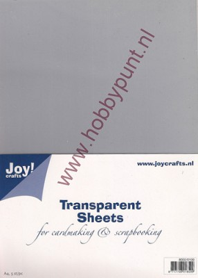 Transparante Sheets - Joy Crafts - 8002/0100