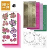 Hobbydots - Dot en Do Set - Roze Bloemen - Dodo-049