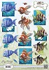 3D Knipvel - Amy Design - Animal Medley - Tropical Fish - CD10538