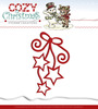 Die - Yvonne Creations - Cozy Christmas - Hanging Stars - YCD10039