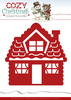 Die - Yvonne Creations - Cozy Christmas - Gingerbread House - YCD10034