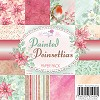 Wild Rose Studio`s  Paper Pack painted Poinsettias - PP047