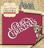 Die - Yvonne Creations - Traditional Christmas - Merry Christmas - YCD10057