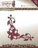 Die - Amy Design - Christmas Greetings - Poinsettia Corner - ADD10071