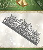 Die - Precious Marieke - Spirit of Christmas - Snowflake Border - PM10068