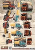 3D Knipvel - Amy Design - Vintage Vehicles - Trucks - CD10848