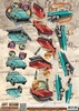 3D Knipvel - Amy Design - Vintage Vehicles - Cars - CD10846