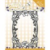 Snij- en Embosmal - Early Spring - Spring Flowers Rectangle Frame - Marieke - PM10111