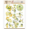 3D Pushout - Jeanine`s Art - Birds and Flowers - Yellow birds - SB10319