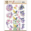 3D Pushout - Jeanine`s Art - Birds and Flowers - Tropical birds - SB10318