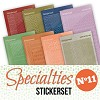 Specialties 11 Stickerset - SPECSTS011