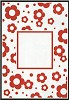 Crafts-Too - Embossing Folder - Flowers Frame - CTFD3044