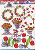 3D Knipvel - Yvonne Creations - Hollandse Tulpen - Carddeco - CD10192