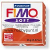 Fimo - Soft - Modeleer Klei - Indian Red - 56 gram - 8020-24