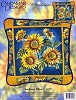Borduurpakket - Candamar Design - Sunflower Pillow - 30793