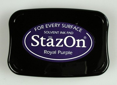 Stempelkussen - Ink pad Royal purple - SZ-000-101