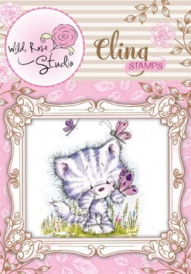 Cling stamp Elsie and Butterflies