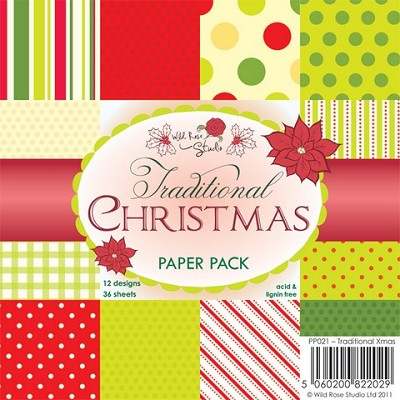 Paper Pack Traditional Xmas