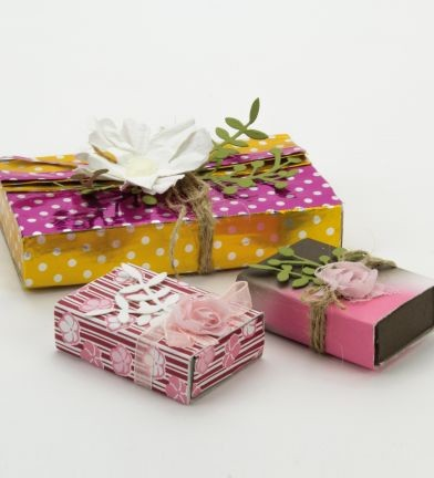 Origami Papier - Metallic Dots - 4425