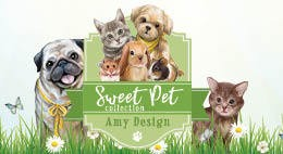 amy design - sweet pet collectie