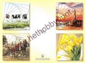 Hobbypunt - Card Deco - Pyramids Boekje 6 - AK2 - Groot