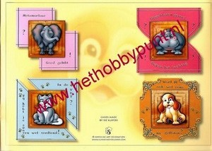 Hobbypunt - Card Deco - Pyramids Boekje 7 - AK2 - Groot
