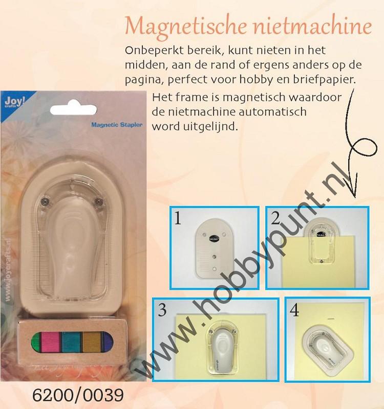 Joy Crafts - Magnetische Nietmachine - 6200/0039